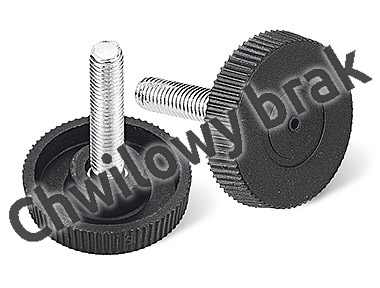 Bolt (handwheels) M8 x 22 Ø of the head 40 fused