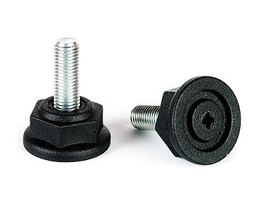 Bolt (feet) M10 x 20, 25, 30 (key 24) fused