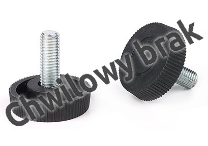 Bolt (handwheels) M10 x 18, 23 Ø of the head 40 fused