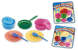 Kitchen utensils little housekeeper (blister package)